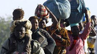 En 2008, des milliers de personnes avaient fui le Tchad face aux violences