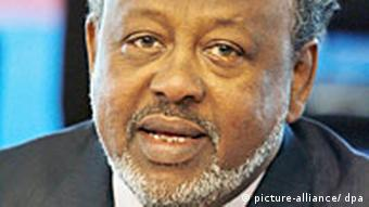 Djibouti President Ismail Omar Guelleh is seen during the closing conference of the the 24th Africa-France summit held in Cannes, France on February 16, 2007. Pool photo by Ludovic +++(c) dpa - Report+++