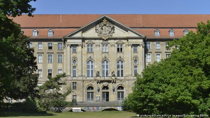 The court building of the Kammergericht in Berlin