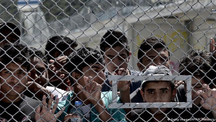 Griechenland Flüchtlingscamp Moria Symbolbild