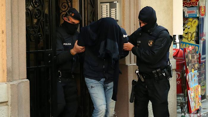 Spanien Razzia gegen Islamisten in Barcelona (Reuters/A. Gea)