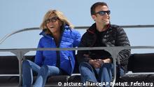 Frankreich Präsidentschaftswahl 2017 | Emmanuel Macron & Ehefrau Brigitte Trogneux