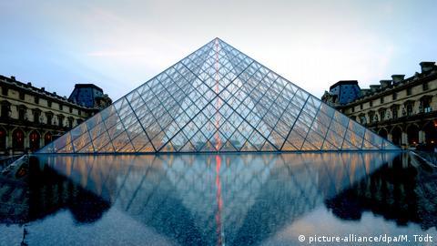 lourve pyramid architect