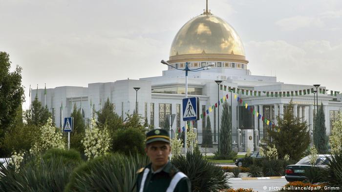 Резиденция президента Туркмении