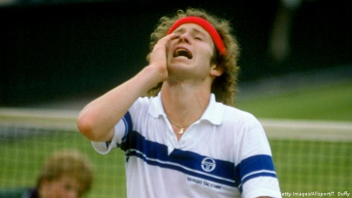 USA John McEnroe (Getty Images/Allsport/T. Duffy)