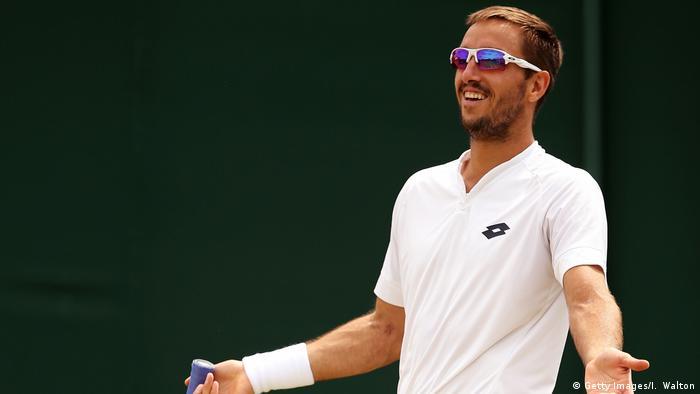 UK Wimbledon- Viktor Troicki (Getty Images/I. Walton)