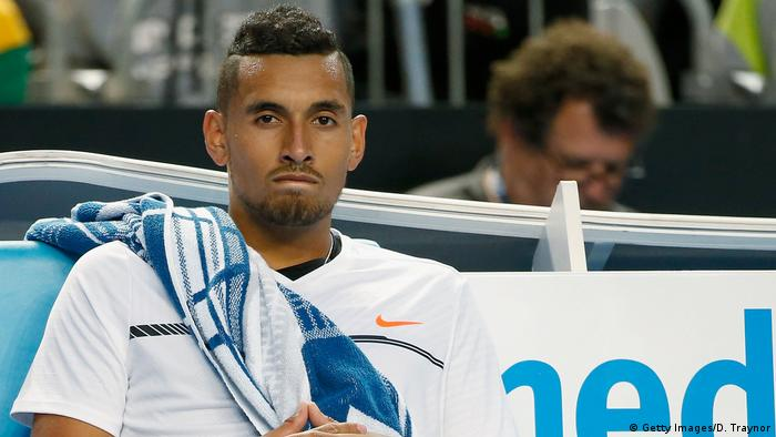 Australian Open - Nick Kyrgios (Getty Images/D. Traynor)