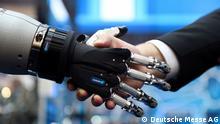 Hannover HMI Messe 2017 Roboterhand