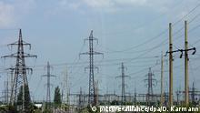 Ukraine Elektrizität - Umspannwerk bei Kiew