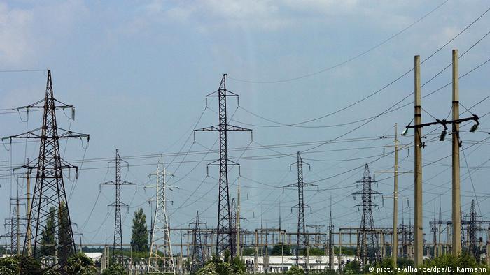 Електрична підстанція біля Києва