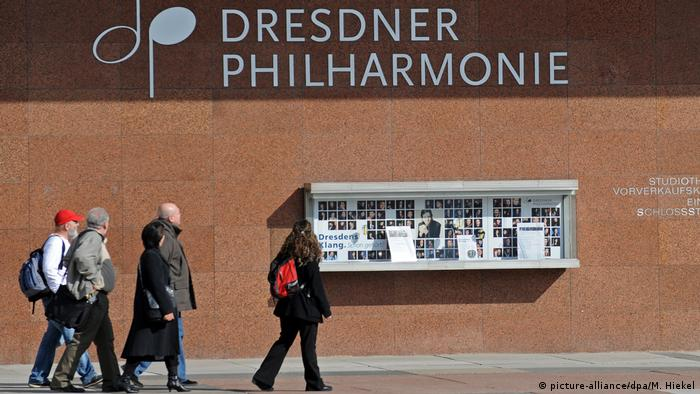Dresdner Philharmonie (picture-alliance/dpa/M. Hiekel)