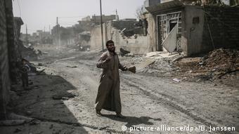 Irak Gefechte bei Mossul