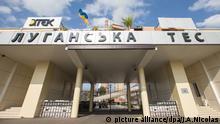 Ukraine Elektrizitätswerk Lugansk