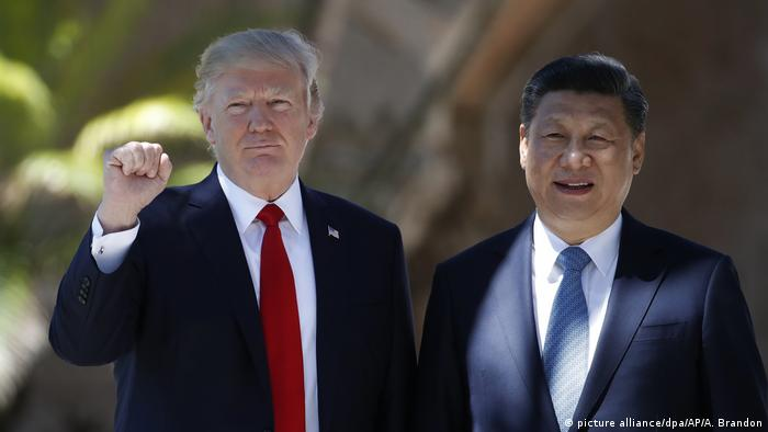 US President Donald Trump and his Chinese counterpart, Xi Jinping