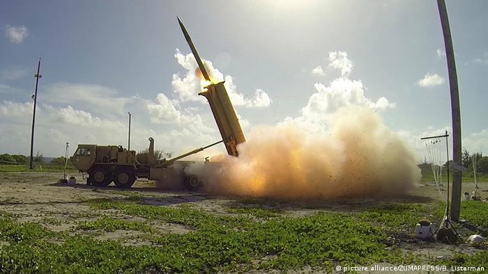 THAAD Raketenabwehrsystem