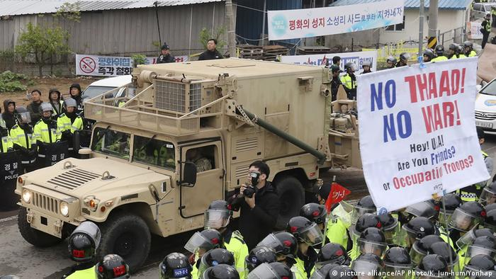 South Korea THAAD missile defense system (picture alliance/AP Photo/K. Jun-hum/Yonhap)