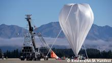 NASA startet Super Ballon am Wanaka Airport in Neuseeland (Reuters/NASA Handout)