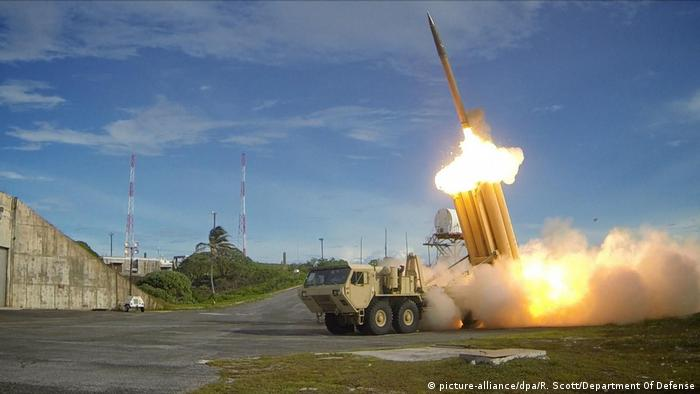 THAAD missile defense system in action in South Korea