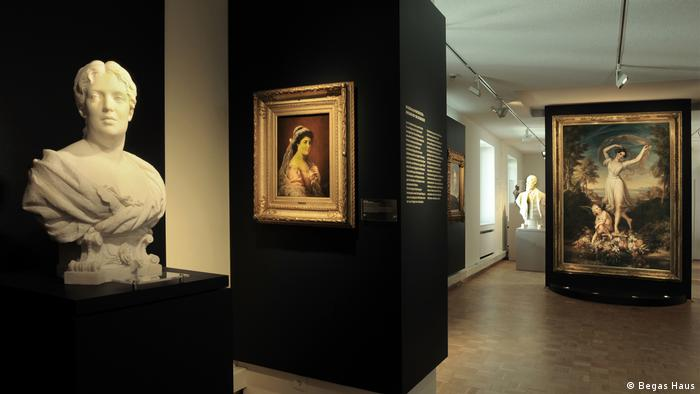 An exhibition room in the Begas Museum in Heinsberg (Foto: Begas Haus)