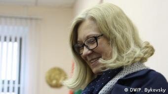Weißrussland Menschenrechtlerin Tatiana Revyako