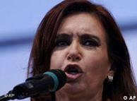Cristina Fernandez de Kirchner .