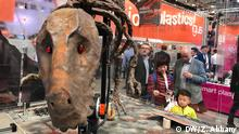 Hannover Messe - Roboter Dinosaurier