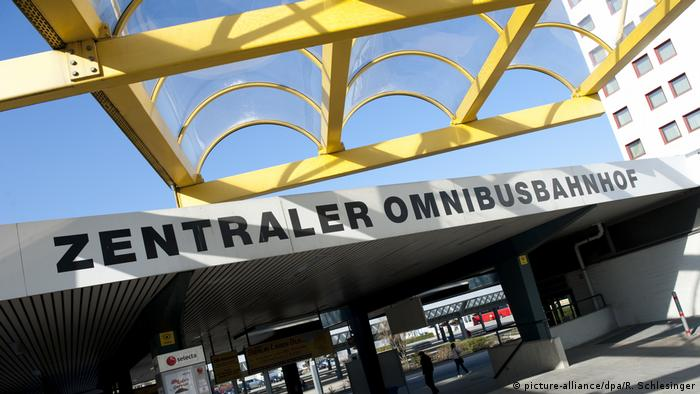 Центральный автобусный вокзал (ZOB) в Берлине