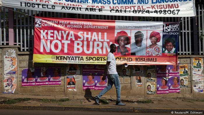 Kenia Wahlen (Reuters/M. Eshiwani)
