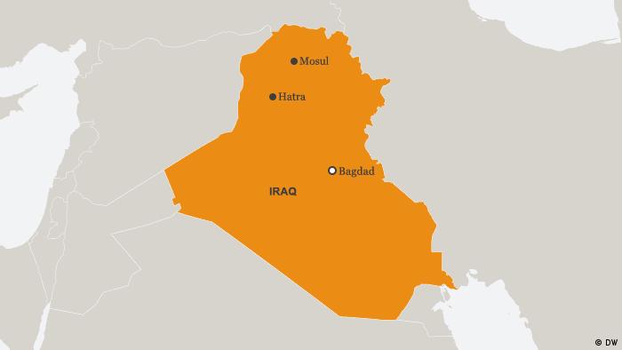 Map of Iraq (DW)