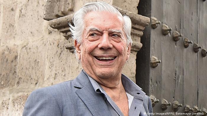 Peru Schriftsteller Mario Vargas Llosa in Arequipa