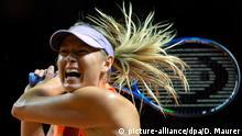 Deutschland Tennis WTA Porsche Tennis Grand Prix - Maria Scharapowa vs. Roberta Vinci
