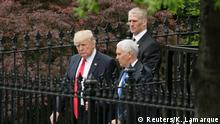 USA Donald Trump und Mike Pence