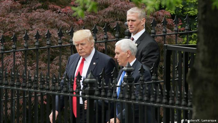 百名参议员齐聚白宫讨论朝鲜问题