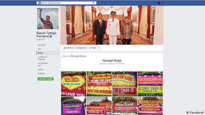 Screenshot Facebook Basuki Tjahaja Purnama (Facebook)