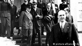 Deutschland Frankreich Edouard Daladier Münchner Konferenz 1938