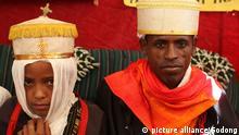 Wedding in Lalibela : very young bride | Verwendung weltweit