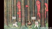 Winsor McCay (1871–1934) Little Nemo in Slumberland Sonntagsseite The New York Herald 8. September 1907, Detail CC0 Public Domain Winsor McCays Traum-Comics für die führenden amerikanischen Zeitungshäuser machten ihn ab 1905 zum ersten Surrealisten des 20. Jahrhunderts. Jugendstil-Opulenz trifft auf avantgardistische Deformation und Selbstreferenzialität, die das Zeichnen selbst zum Gegenstand macht.
