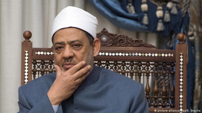Ägypten Imam und Scheich von Al-Azhar, Ahmad Mohammad al-Tayyeb (picture alliance/dpa/S. Stache)