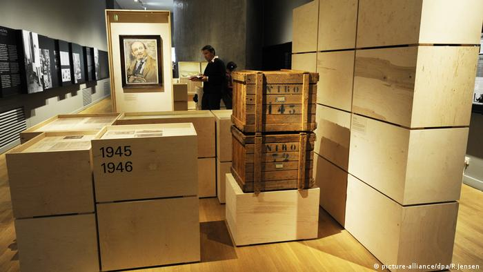 Kunstraub zählte auch zu den Vergehen der Nationalsozialisten. Insbesondere jüdische Besitzer wurden in Massen bestohlen