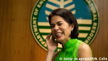 Philippinen Umweltministerin Regina Lopez (Getty Images/AFP/N. Celis)