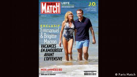 Cover Paris Match Emmanuel und Brigitte Macron (Paris Match)
