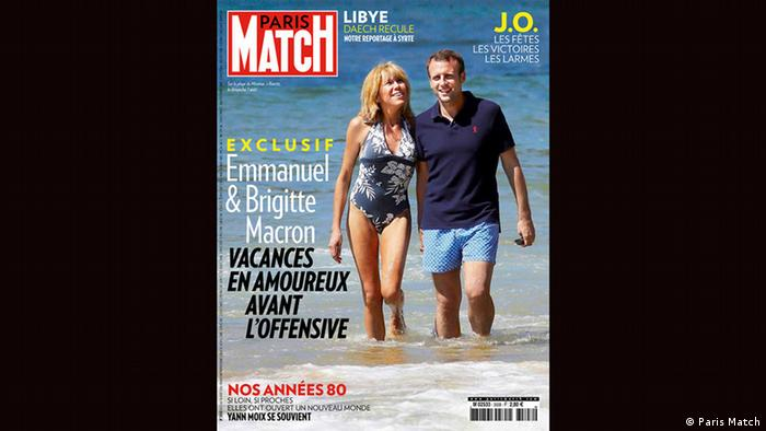 Cover Paris Match Emmanuel und Brigitte Macron (Paris Match)