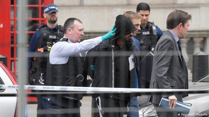 Großbritannien Terroralarm und Festnahme in London (Reuters/T. Melville)