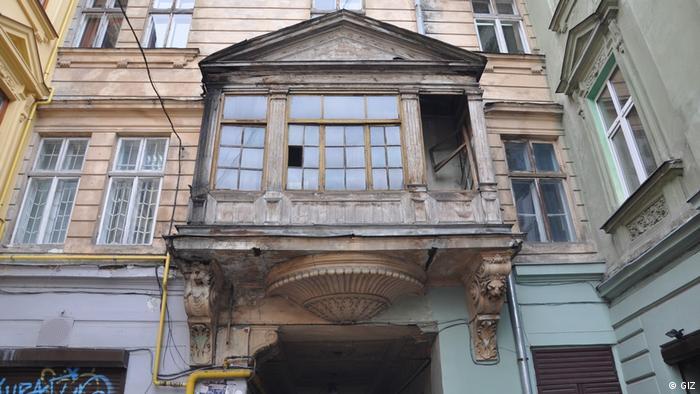 Згодом дійшла черга й до балконів