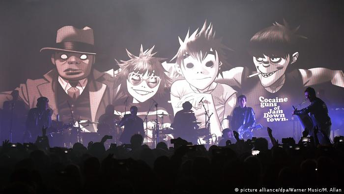 """Humanz"": Die Gorillaz Vs. Donald Trump"