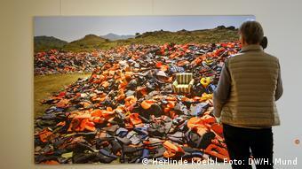 Refugees photo exhibition by Herlinde Koelbl