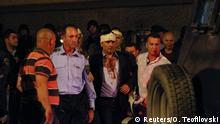 Mazedonien Skopje Ausschreitungen Parlament Parlamentarier