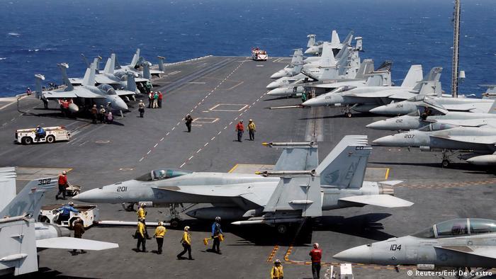 US Flugzeugträger USS Carl Vinson (Reuters/Erik De Castro)