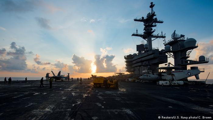 US Flugzeugträger USS Carl Vinson (Reuters/U.S. Navy photo(C. Brown)