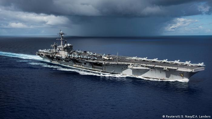 US Flugzeugträger USS Carl Vinson (Reuters/U.S. Navy/Z.A. Landers)